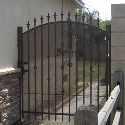 Wrought Iron Courtyard Gates Folsom