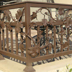 Exterior Iron Railings - Folsom, CA